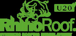 Rhino Roof logo in green